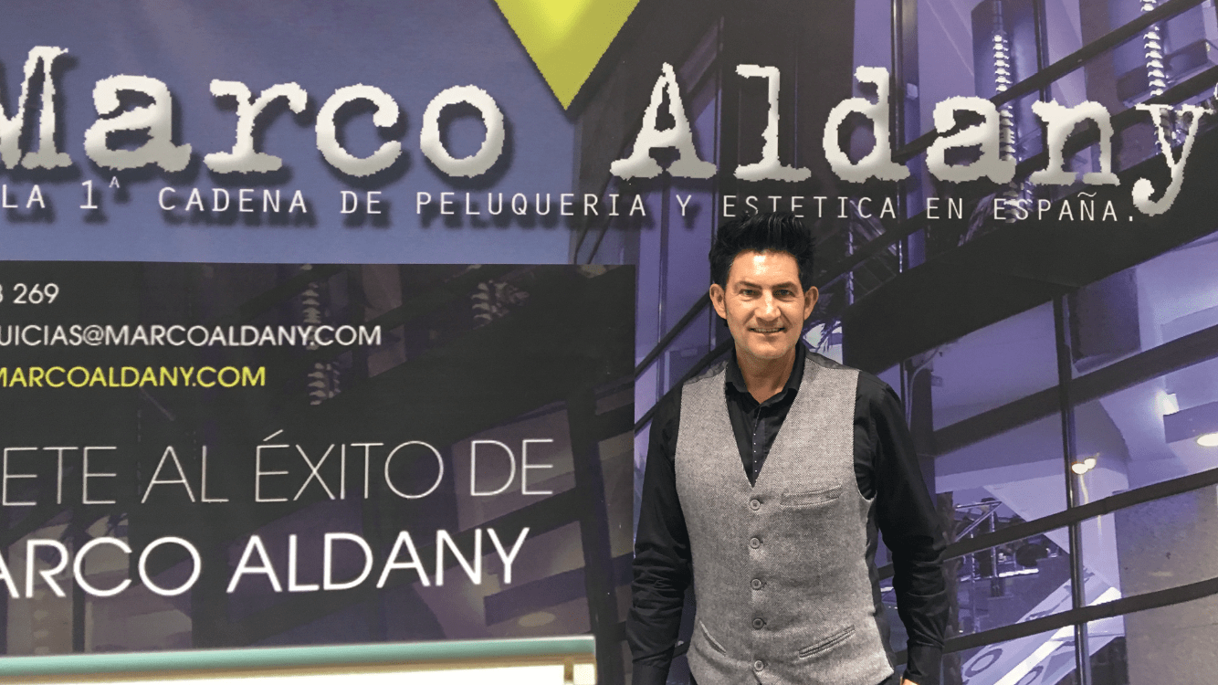Iñaki Alcubilla en curso Marco Aldany