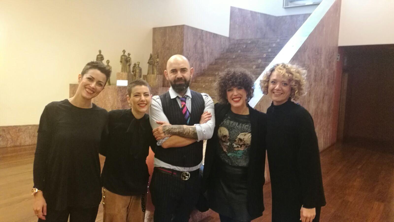 Curso impartido por Marcos Leonardo y Ana Rubin en Bilbao