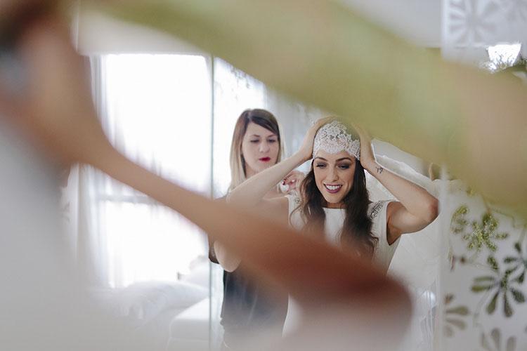 Boda de Ingrid Betancort - confió su imagen a ARCO