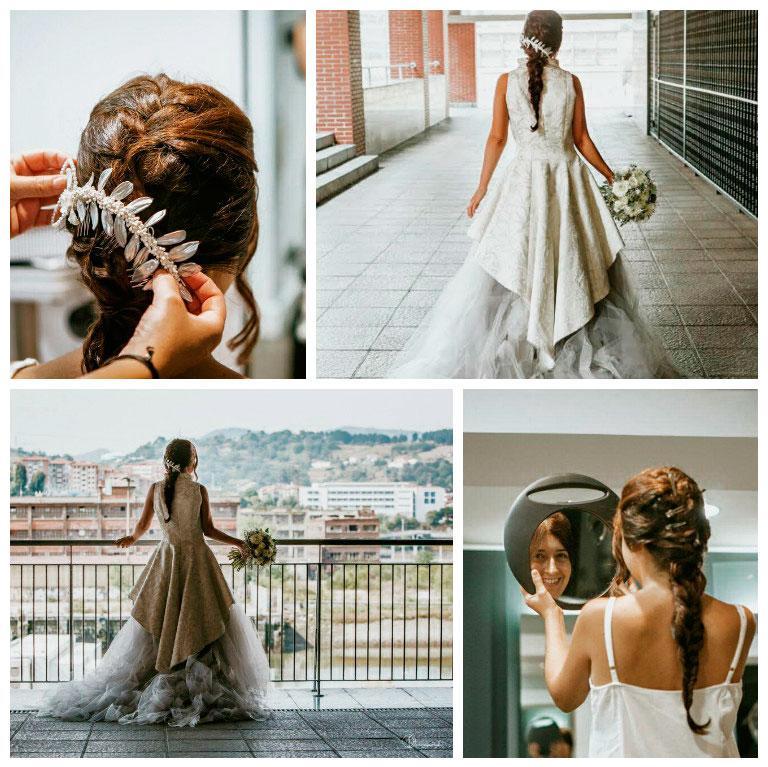 ARCO - peluquería para novias en Bilbao