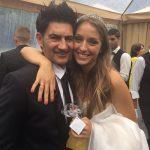 Con Andrea Sesma