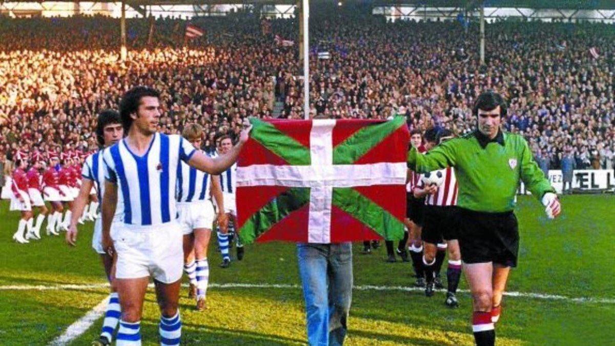La final del fútbol vasco
